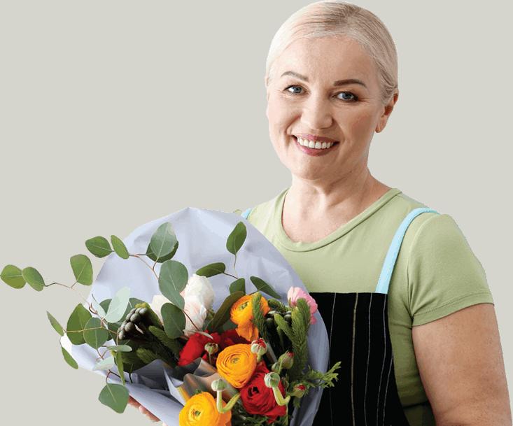 Portrait Florist